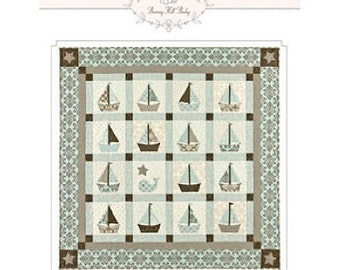 Cape Cod Baby Quilt Pattern By Bunny Hill