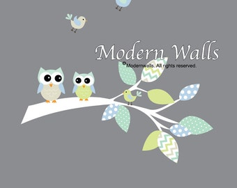 Nursery Wall Decals Baby Branch Vinyl Wall Decals