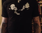 Blue Velvet movie T-shirts...Dennis Hopper as Frank Booth and Isabella Rossellini