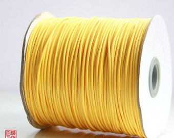 7M 1.5mm Yellow Korea Wax Cord
