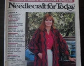 Needlecraft For Today - Jan Feb 1982 Issue - Vintage Craft Pattern Booklet, Magazine, Book - Knitting, Crochet, Quilting