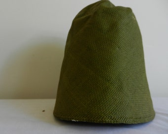 Vintage Olive Green Toyo Millinery Hood-Other Colors available.