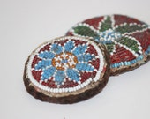 Antique Tribal Beadwork Medallions