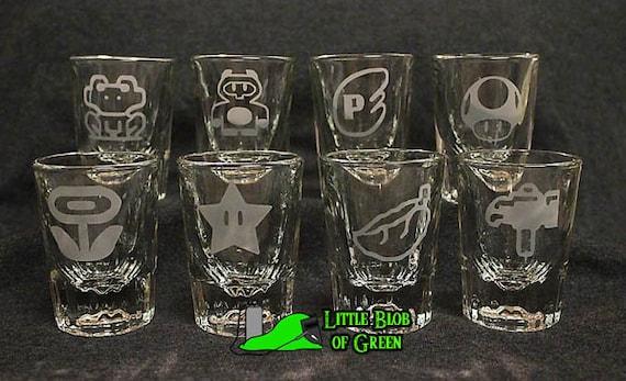 SALE 50% OFF!!!! -- 8pc Super Mario Power-Up Bar Shot Set