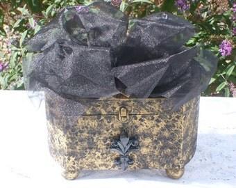 Fleur De Lis  Jewelry Box