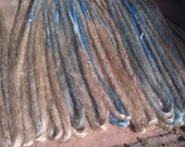 15 Natural style dreads with or without weft clips with loose ends long Custom order dreadlocks hair extensions dreads