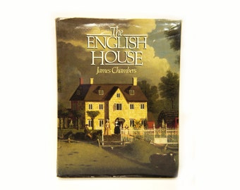 The English House Vintage Architectural Historical illustrated Book