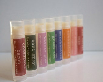 VACATION SALE  Pick 10 Lip Balms for 34.00 Discount Lip Balm, Bulk Lip Balm, Wholesale LIp Balm
