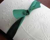 Dandelion Card Set (8 Embossed Nature Design for Summer) in Ivory