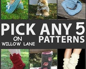 SPECIAL---------5 for 20.00----------ANY patterns you want---------Thank you to all my wonderful customers------Enjoy
