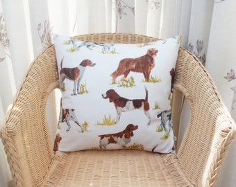 Dog pillow cover, pooch pillow cover, puppy pillow cover, pup pillow cover, dog cushion cover, doggy pillow cover, doggy decor