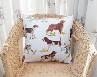 Dog pillow cover - pooch pillow cover - puppy pillow cover - pup pillow cover - dog cushion cover - doggy pillow cover - doggy decor