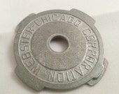 SALE !!!   45 RPM record adapter  Webster Chicago Corporation metal
