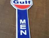 Gulf Oil Men Restroom Keys Holder