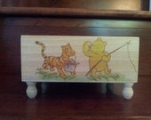 Winnie The Pooh Tigger Vintage Pooh Diaper Caddy Nursery Decor Baby Decor Baby Shower Centerpiece Diaper Bag Baby Shower Gifts