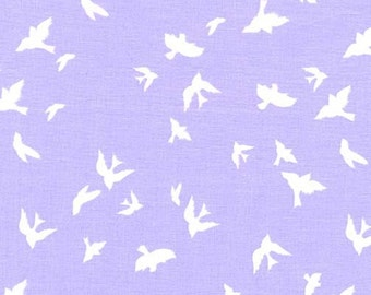 "1 Yard ""Flight"" in Twilight, Brambleberry Ridge, Violet Craft, Michael Miller, Quilting Cotton"