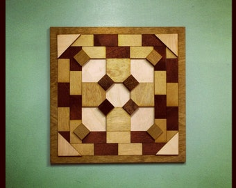 Wood Wall Quilt