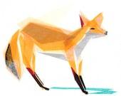 Felix Fox - Animal Art Print