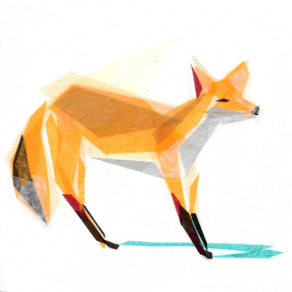 Felix Fox - Animal Art Print