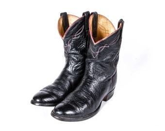 TONY LAMA Roper Boots Size 10 .5