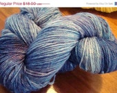 50% Off Sale Bashful Sheep Merino Sock Yarn in Would you like some Purple with that Blue