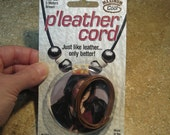 1 mm Brown Pleather Cord