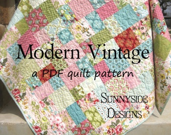 PDF Quilt Pattern Simply Sashed Charm Pack Precuts Simple : pdf quilt patterns free - Adamdwight.com