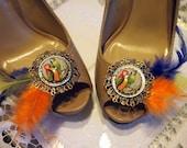 Parrot Shoe Clips