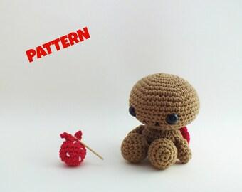 Amigurumi Turtle Pattern / Kids Patterns / Crochet Amigurumi Pattern / Turtle Pattern / Crochet Animal Pattern / Amigurumi Animal Pattern