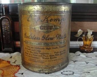 Antique Nut tin