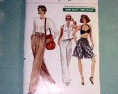 Vintage Very Easy Vogue 7417 Size 20-22-24