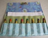 Princess Tiana Crayon roll up crayon caddy crayon holder Princess and the Frog organizer Tiana party favor stocking stuffer