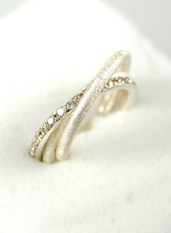 Fine Jewelry. Russian Wedding Ring. Engagement Ring. Sterling