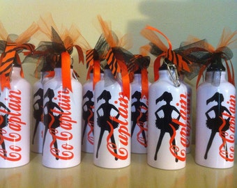 Personalized Cheer Team Water Bottles - Cheer Team Gifts - Sports Team Gifts - Soccer Team Gifts - Basketball Team Gifts - Coach Gifts