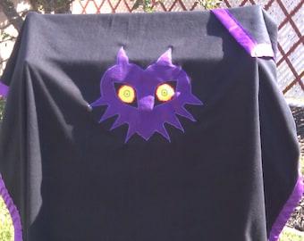 Legend of Zelda Majora's mask fleece blanket