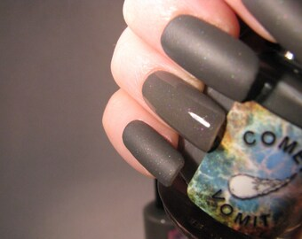 Rosetta Stoned matte nail polish by Comet Vomit