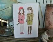 Moonrise Kingdom Sam and Suzy Card