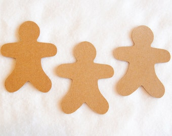 Gingerbread Men Die Cuts