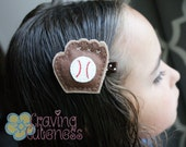 Baseball Glove Hair Clip - Meet Miss Gretta