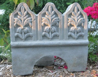 Beautiful Concrete Garden Edging Tile