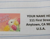 Happy Easter Whimsical Design -- Theme Package Number Five -- Return Address Label