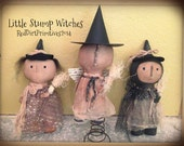 Little Stump Witches E pattern