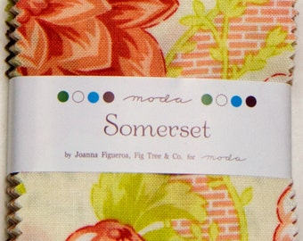 Somerset by Fig Tree and Co. for Moda -  Mini Charm Pack