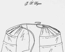 JPR14 - JP Ryan #14, 18th Century Pocket Hoops Sewing Pattern