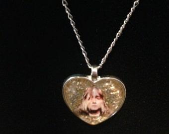 Kurt Cobain of Nirvana Necklace