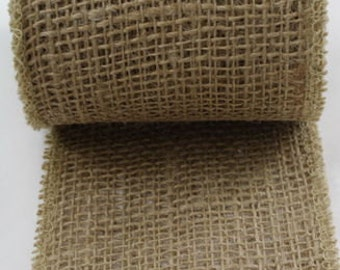 """10 yards long  of 14"""" inches wide natual burlap roll -party wedding table decorations- DIY burlap table runners or burlap placemats JRH14-12"""