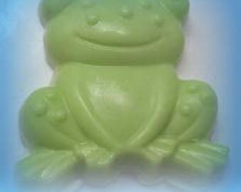 frog soap, soap, kids soap, frogs, unique soap, handmade soap, normas bath, beauty, gifts, glycerin soap