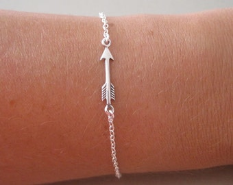 Mini Arrow Charm Bracelet - Charm Bracelet - Arrow Jewelry