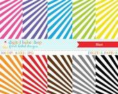 digital papers stripes - Blast Digital Papers