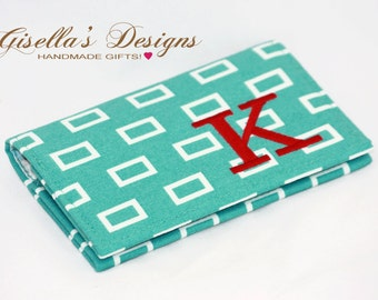 Personalized Graduation Gift, Custom made Business card holder, Monogram credit card wallet